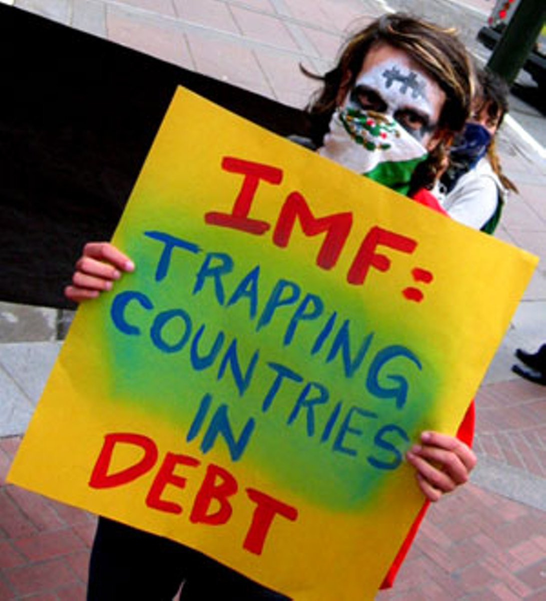 IMF trapping countries in debt